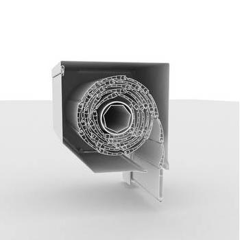 Systém vonkajších hliníkových roliet